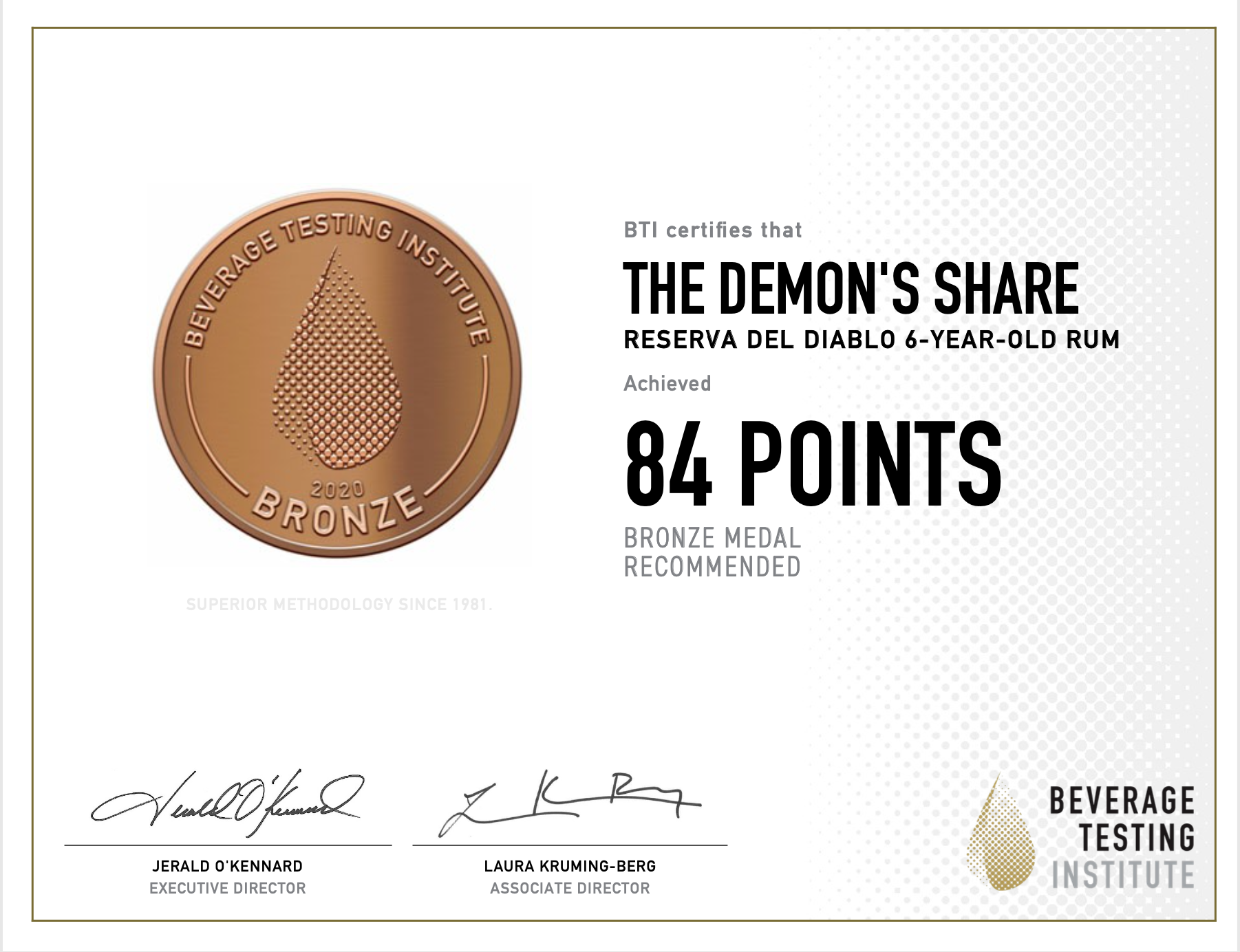 certification the demon share